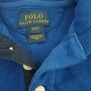 Ralph Lauren Shirts & Tops - Ralph Lauren Polo hoodie 2T